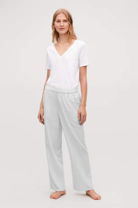 Cos COTTON-FLANNEL PYJAMA TROUSERS