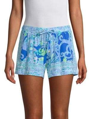 Lilly Pulitzer Katia Printed Drawstring Shorts