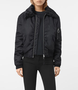 Luca Bomber Jacket $468 thestylecure.com