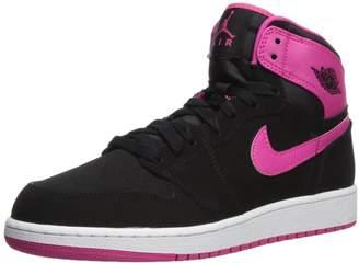 Jordan Nike Kids Air 1 Retro High GG /Vvd Pnk Basketball Shoe 6 Kids US