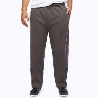 Co THE FOUNDRY SUPPLY The Foundry Big & Tall Supply Loose-Fit Open-Bottom Fleece Pants