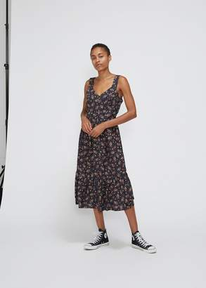 Comme des Garcons Sleeveless Floral Dress