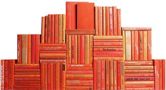 Orange Book Wall, Set of 100