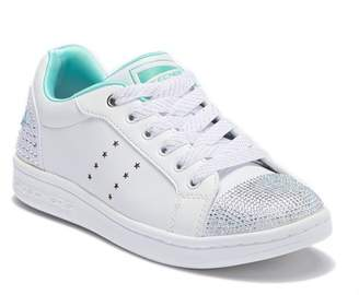 Skechers Omne Smile Back Embellished Sneaker (Little Kid & Big Kid)
