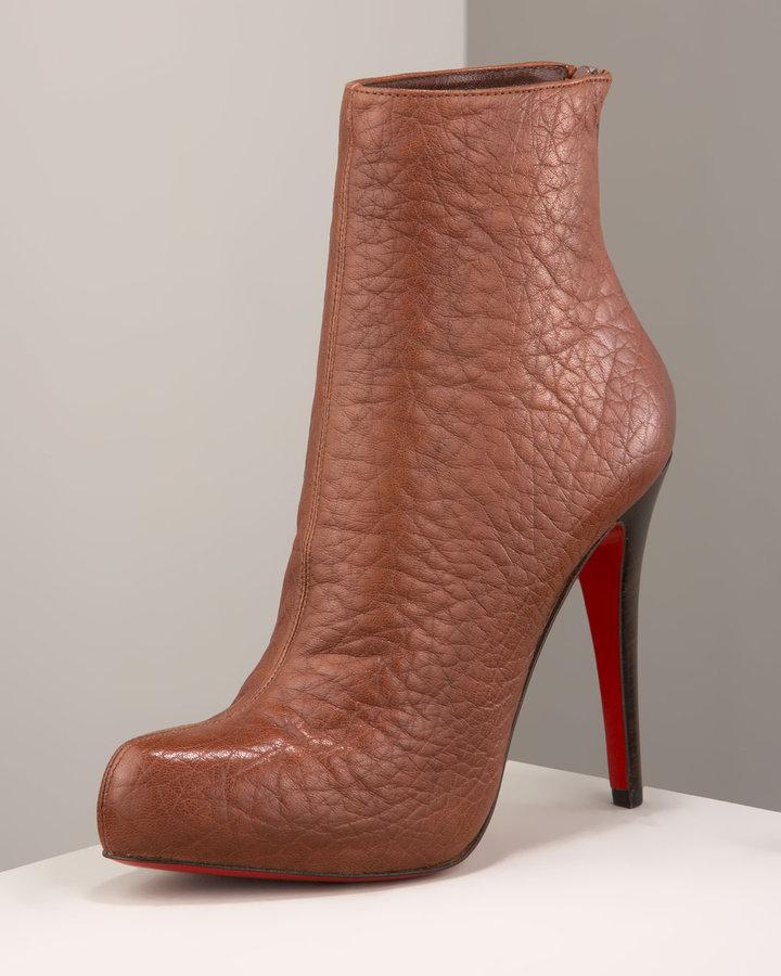 Christian Louboutin Plaform Ankle Boot