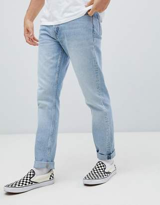 Weekday sunday tapered jeans spring blue