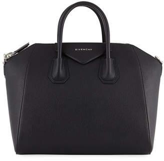 6d40bc7cf7 Givenchy Antigona Medium Leather Satchel Bag