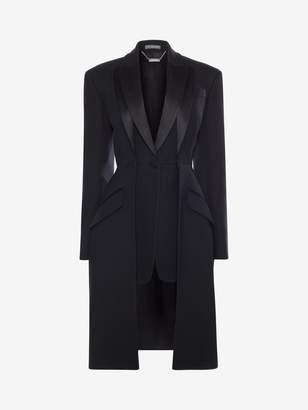 Alexander McQueen Double Lapel Tailored Coat