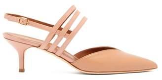 Malone Souliers Liza Patent Leather Slingback Pumps - Womens - Nude