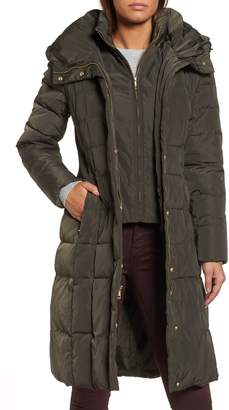 Cole Haan Signature Bib Insert Down & Feather Fill Coat