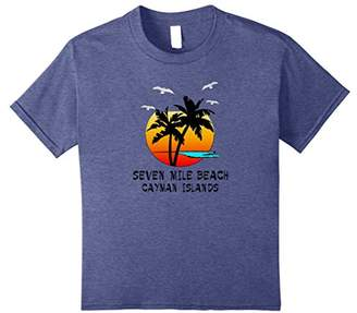 Tropical Seven Mile Beach Cayman Islands Paradise Gift Shirt
