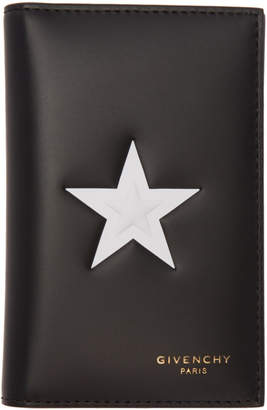 Givenchy Black Star 6CC Card Holder