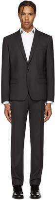 Dolce & Gabbana Grey Wool Martini Suit $2,245 thestylecure.com