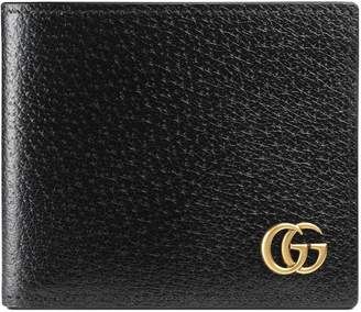 GG Marmont leather bi-fold wallet $360 thestylecure.com