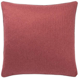 Jaipur Rugs Inc Jaipur Living Rollins Solid Red Poly Throw Pillow 22""