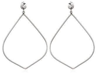 Satya Jewelry Womens Lotus Earrings