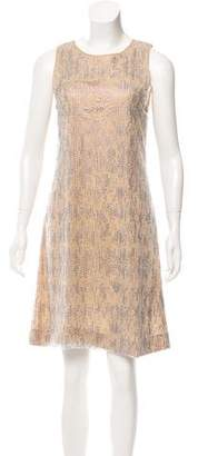 Giorgio Armani Sleeveless Sequin Dress