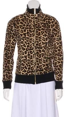 MICHAEL Michael Kors Animal Printed Cotton Jacket