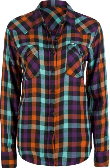 HURLEY Wilson Womens Flannel Shirt