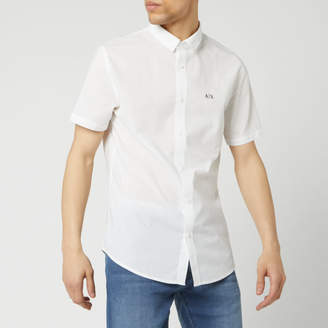 Armani Exchange Men's Short Sleeve Shirt