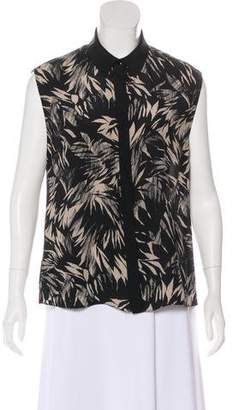 Jason Wu Silk Sleeveless Top