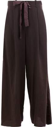Masnada wide leg trousers