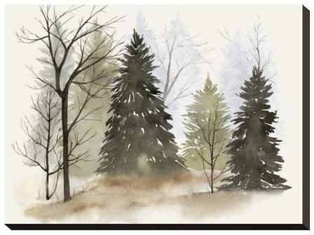 In The Mist II By Grace Popp Unframed Wall Canvas