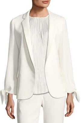 Lafayette 148 New York Bria Finesse Crepe Jacket