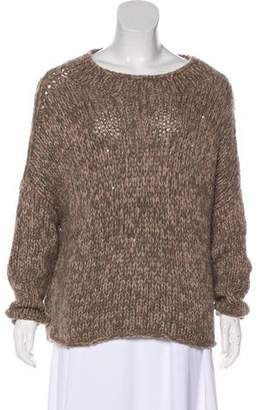 Brunello Cucinelli Knit Cashmere Sequined Sweater