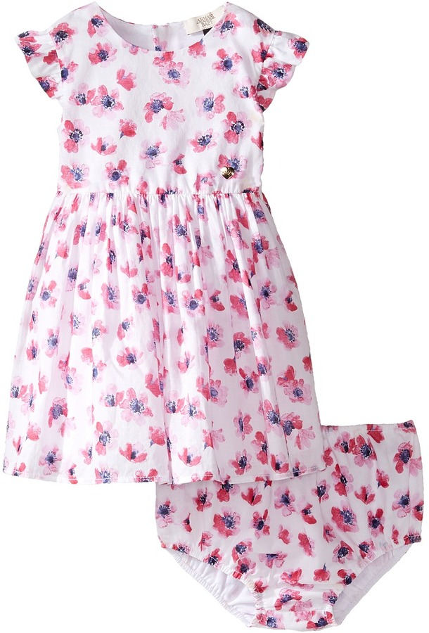 Armani JuniorArmani Junior - Floral Printed Cotton with Bloomer Girl's Dress