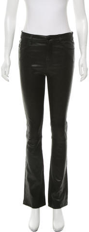 J Brand J Brand Flared Leather Pants