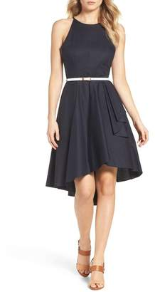 Eliza J High\u002FLow Dress (Regular & Petite)
