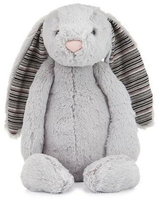 Jellycat Large Bashful Blake Bunny Stuffed Animal, Gray $36 thestylecure.com