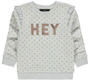 George Grey Polka Dot Slogan Sweatshirt