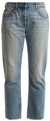 The Row Ashland Mid Rise Straight Leg Jeans - Womens - Denim