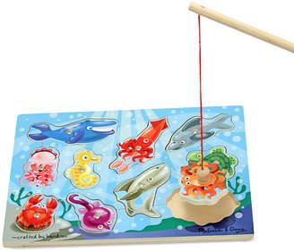 Melissa & Doug Toy, Fishing Magnetic Puzzle Game