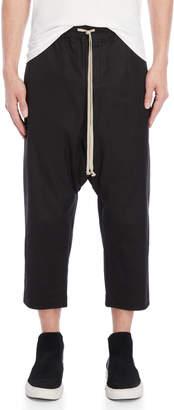 Rick Owens Drop Crotch Crop Pants