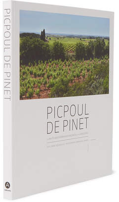 Abrams Picpoul De Pinet: The White Mediterranean Vineyards Of The Languedoc Hardcover Book - White