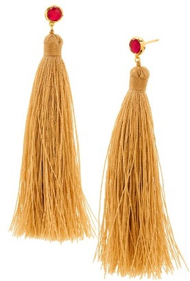 Women's Gorjana Tulum Tassel Earrings $50 thestylecure.com