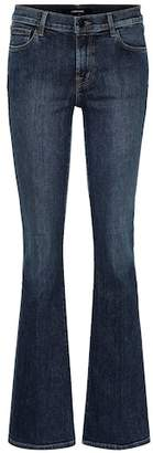 J Brand Sallie high-rise flared jeans