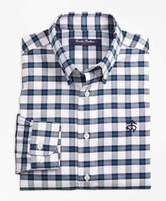 Brooks Brothers Boys Non-Iron Supima Cotton Check Sport Shirt