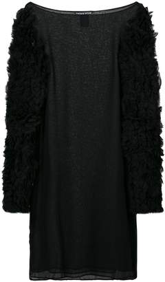 Thomas Wylde ruffled sleeves mini dress
