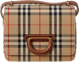 Burberry Small D-Ring Vintage Check Shoulder Bag