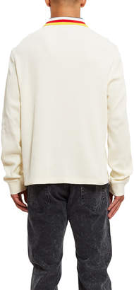 Opening Ceremony Thermal Long Sleeve Polo