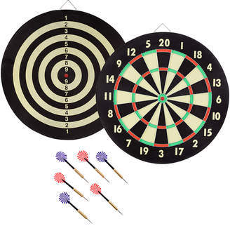 D+art's Trademark Dartboard Target Game With 6 Darts By Hey Play