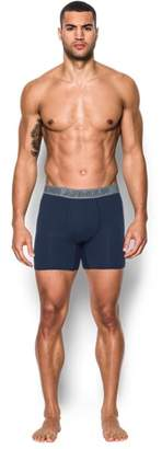 """Under Armour Men's Charged Cotton® Stretch 6"""" Boxerjock® – 3-Pack"""