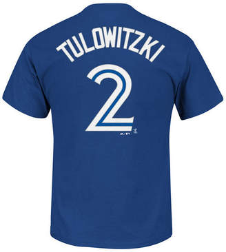 Majestic Men's Troy Tulowitzki Toronto Blue Jays Official Player T-Shirt
