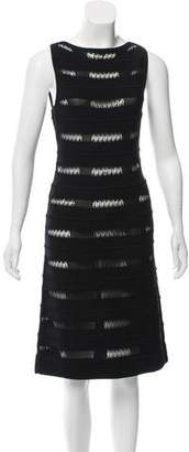 Malo Knit Cutout Dress