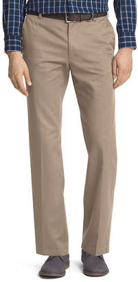 Izod Mens Relaxed Fit Flat Front Pant-Big and Tall