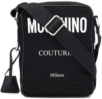 Moschino small logo messenger bag